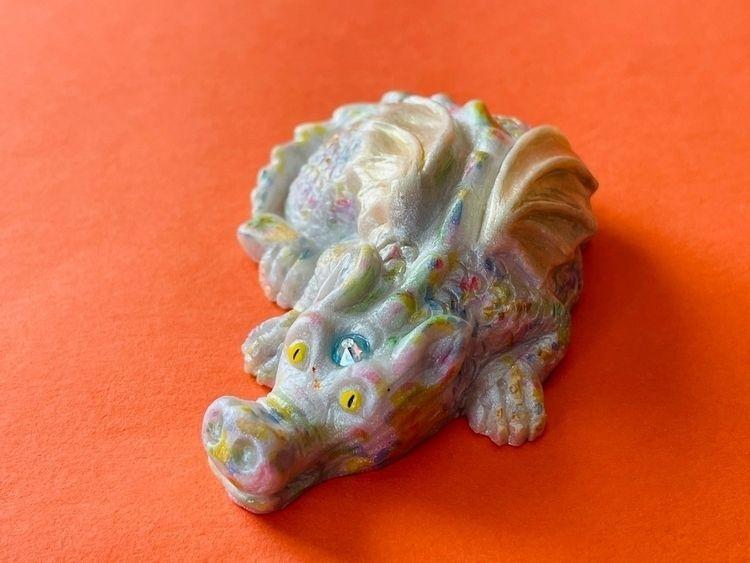 Unicorn dragon - eesascreations   ello