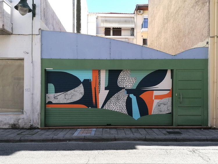 garage door Nafpaktos Greece /  - anastasia_papaleonida | ello
