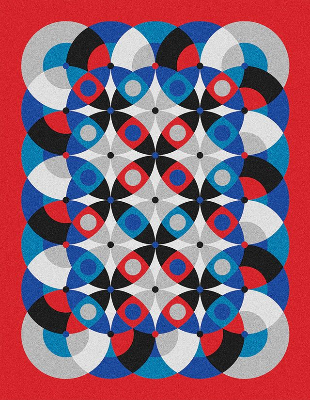 ★ XL Giclée Prints INFINITY - 6c_Symmetrics_2O21 - mwm_graphics | ello