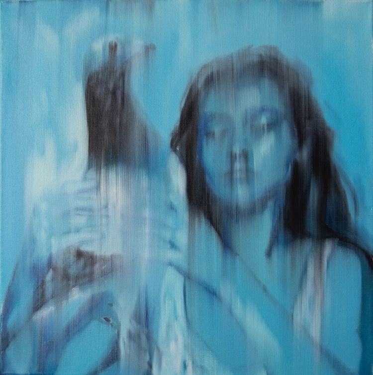 Pigeon, 50x50cm, oil canvas, 20 - rutavm | ello