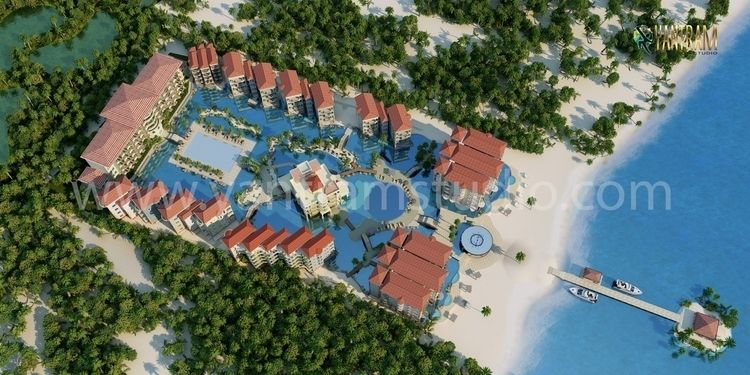 Aerial View Residential Landsca - yantramstudio | ello