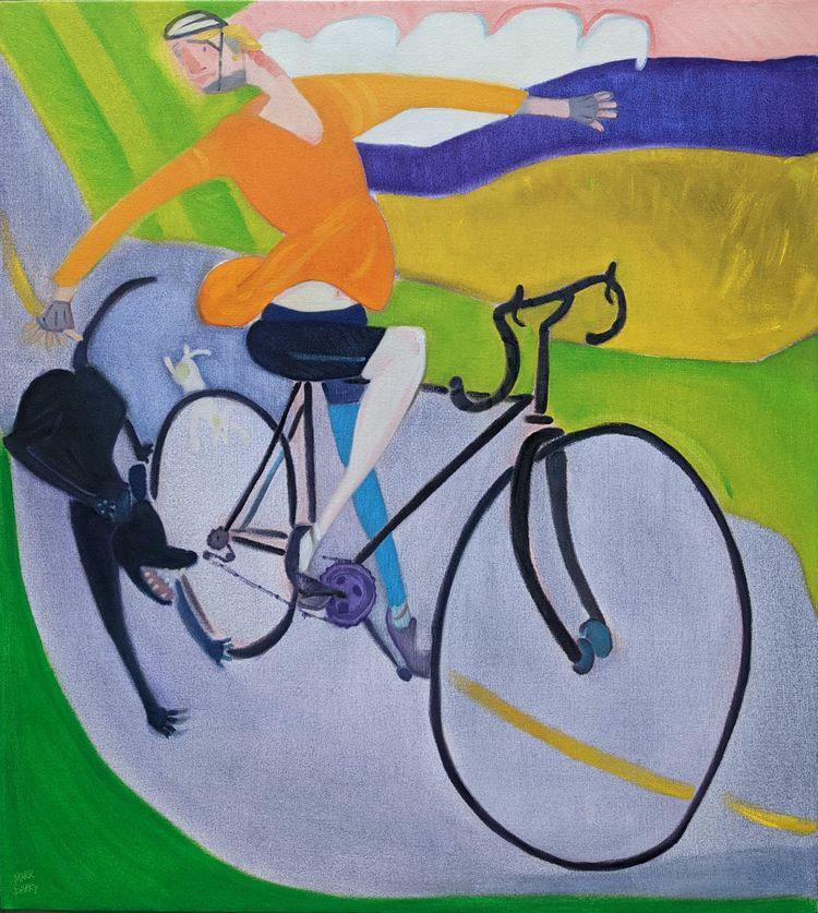 Important Oil canvas, 40x36 - markbarry | ello