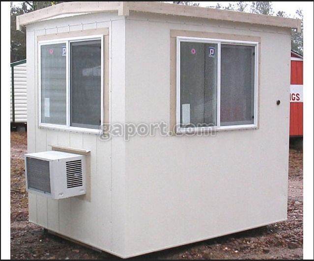 Georgia Portable Buildings hand - guardhouses | ello