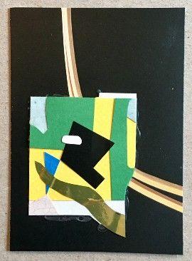 Assemble paper collage - abstractcollage - tim_ereneta | ello