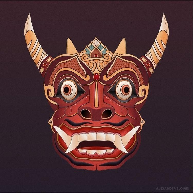 Java Mask 02 - sloves   ello