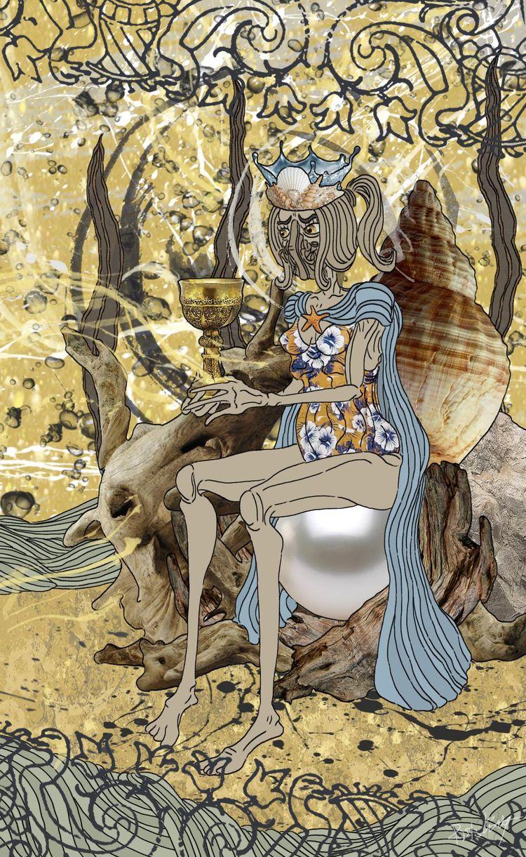 Queen Cups - good, loving woman - ristoky | ello