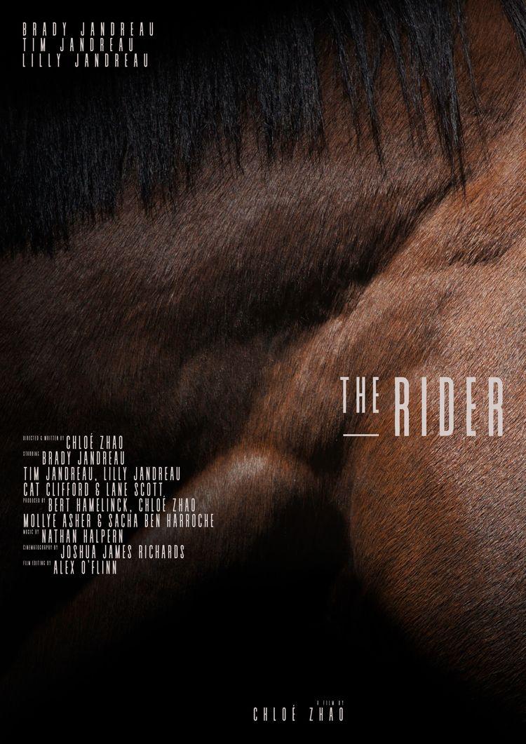 Film poster Rider (USA, 2017),  - sarahschrauwen | ello