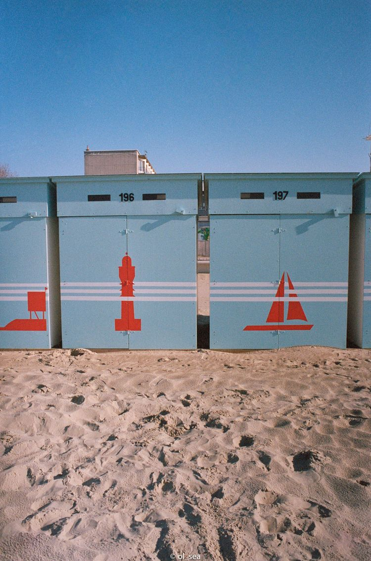 film portra 400 - kodak, beach, colors - ol_sea | ello