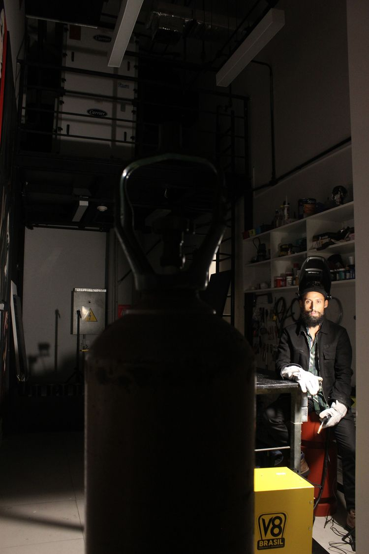 Welding - installation, contemporaryart - jucamaximo | ello