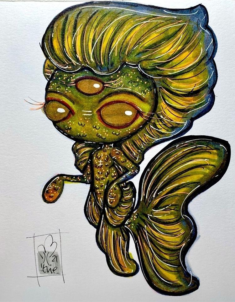 8/31: black orange linktree: li - tentaclemadestudios | ello