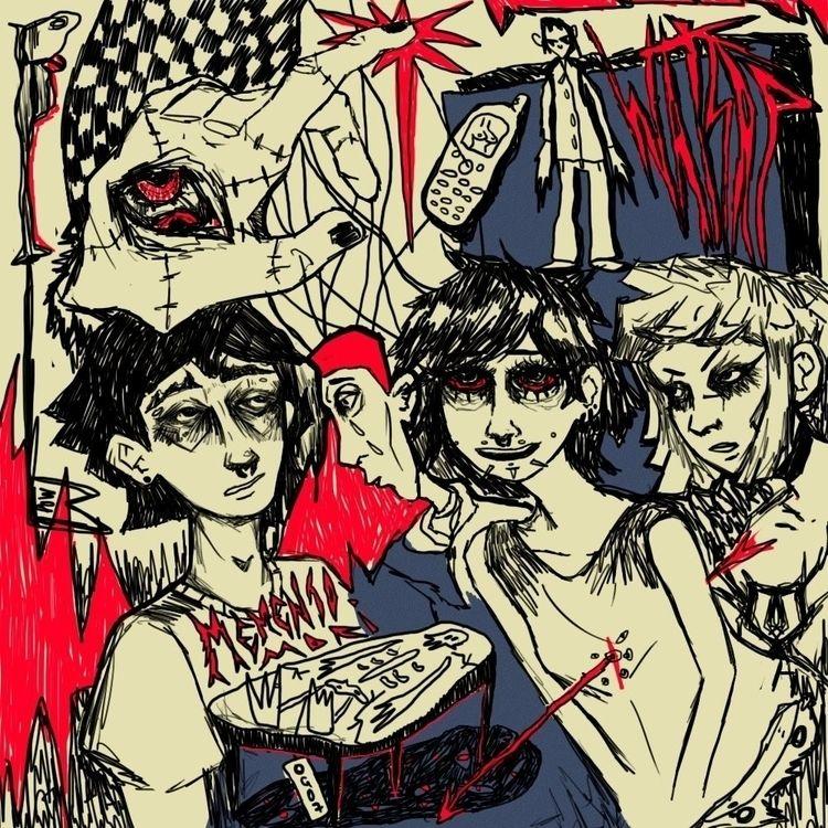 memento mori - art, illustration - ps1graphics2000 | ello