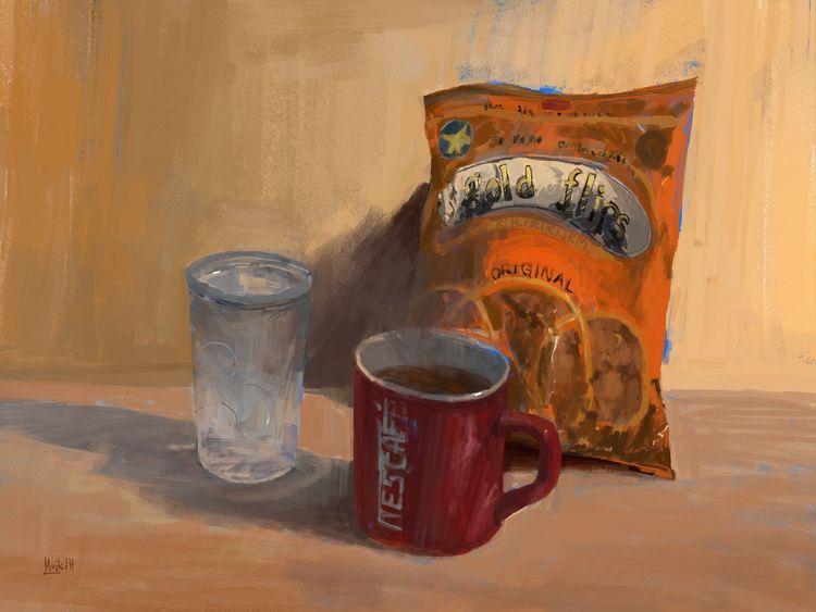 Coffee Flips - mujkicharis   ello