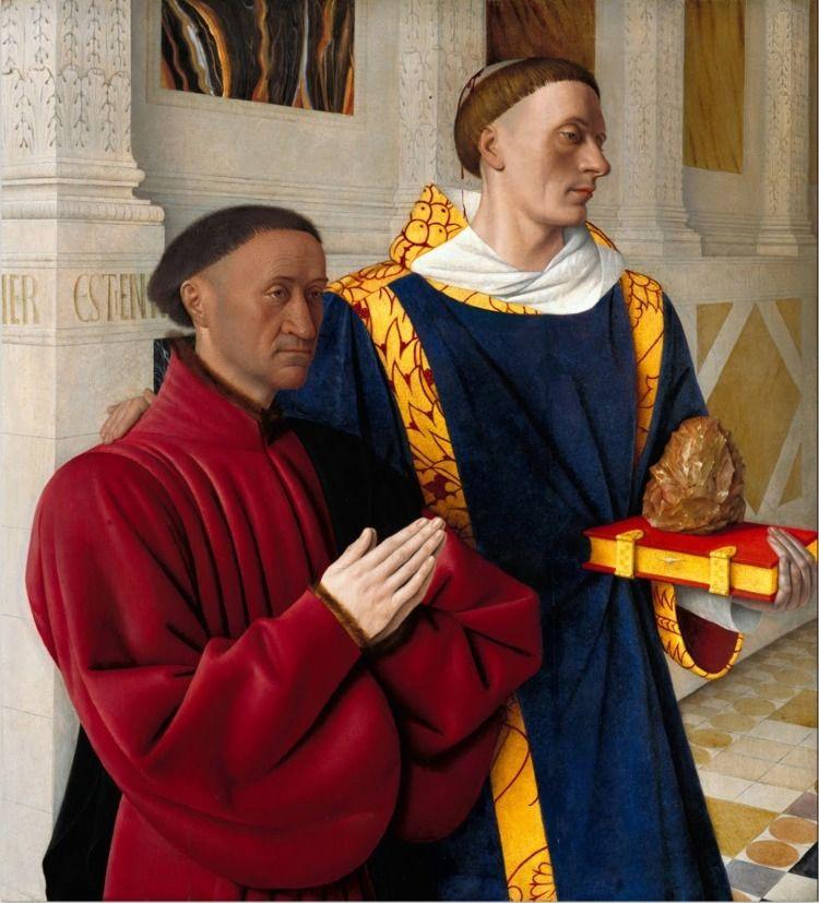 Jean Fouquet: Etienne Chevalier - arthurboehm | ello