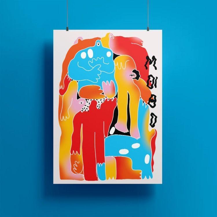 Week - digitalart, illustration - maganagoesbold | ello