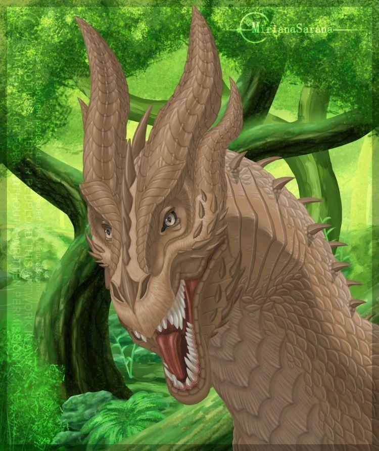 MirianaSarana - Fantasy Dragon  - mirianasarana   ello