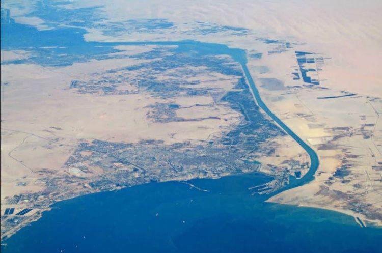 Suez Canal starts dredging work - tonynetone | ello