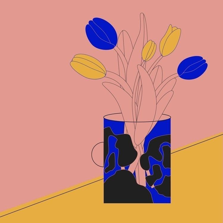 Tulips - monique_pfneiszl | ello