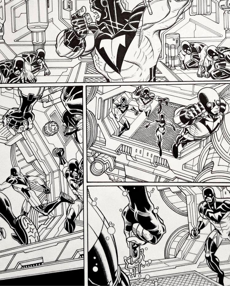 Wolverine Pencils: Nick Bradsha - waldenwongart   ello