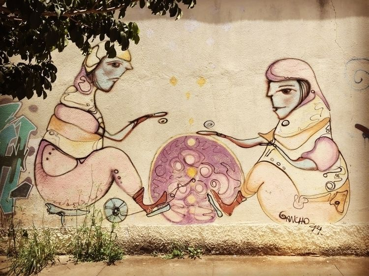 Tatuapé, São Paulo, Brasil  - graffiti, - casparmenke   ello