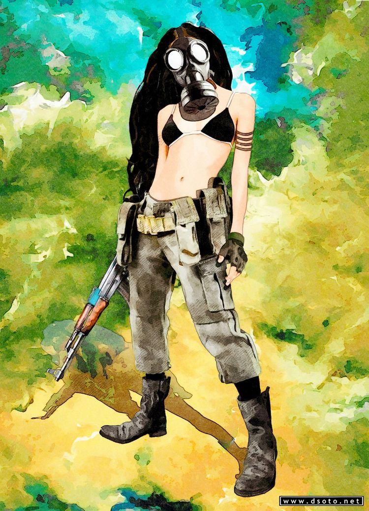 Independent soldier Soldado ind - dsoto | ello