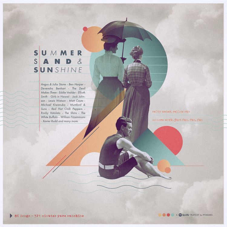 Surfing, Sand Sunshine - cover  - iampommes | ello