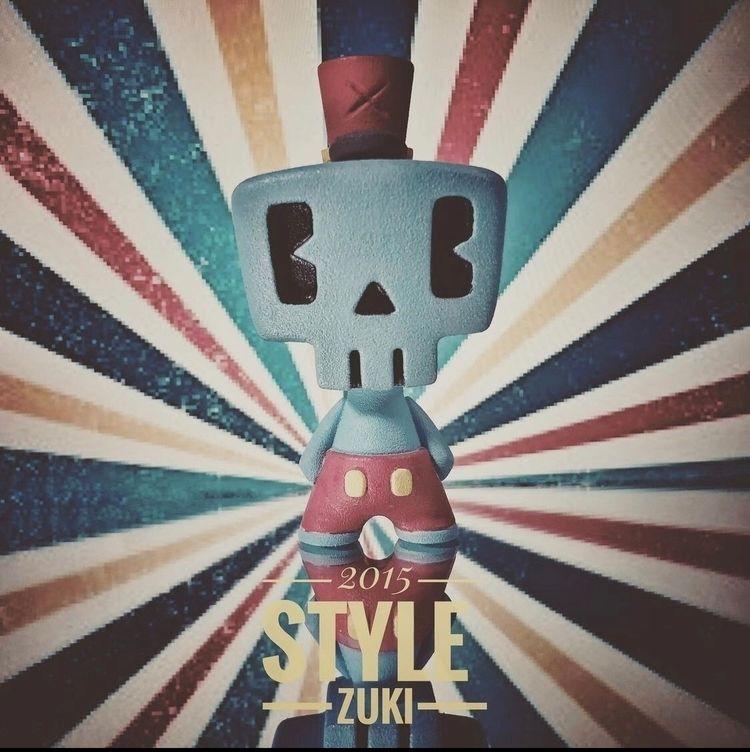 Zuki - Arttoy#CaptainZeto#DesignerToy - edgarhernandez | ello
