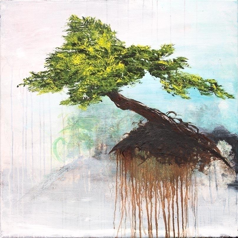 Solitude 24 Oil canvas finally  - cogwurx   ello