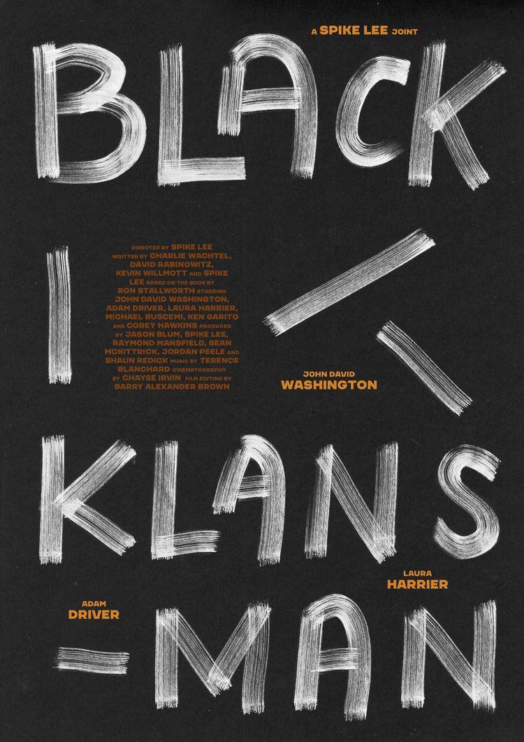 Film poster BlacKkKlansman (USA - sarahschrauwen | ello