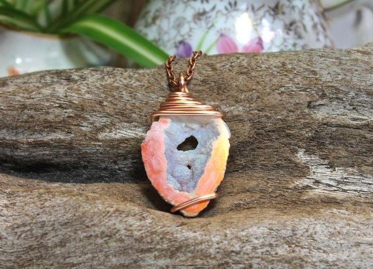 Angel aura geode slice - crystals - gypsyhawaii | ello