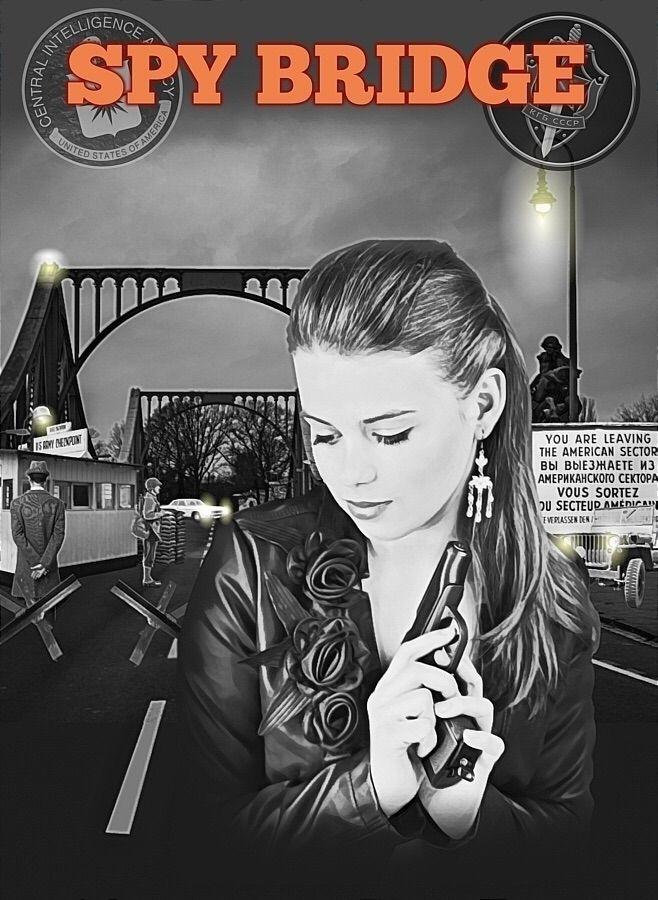 Spy Bridge. Tommy Jordache Art - tommyjordache | ello
