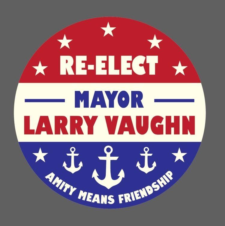 Mayor Larry Vaughn. beaches ope - avoidperil | ello