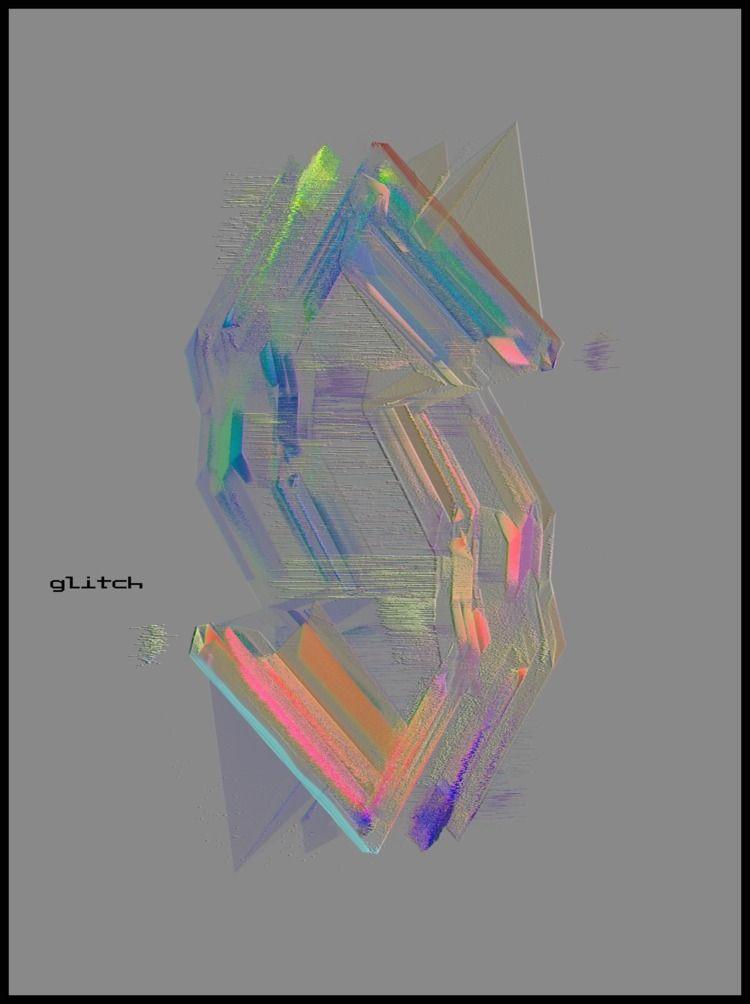 experimenting 3D glitch - mariusnedelcu | ello