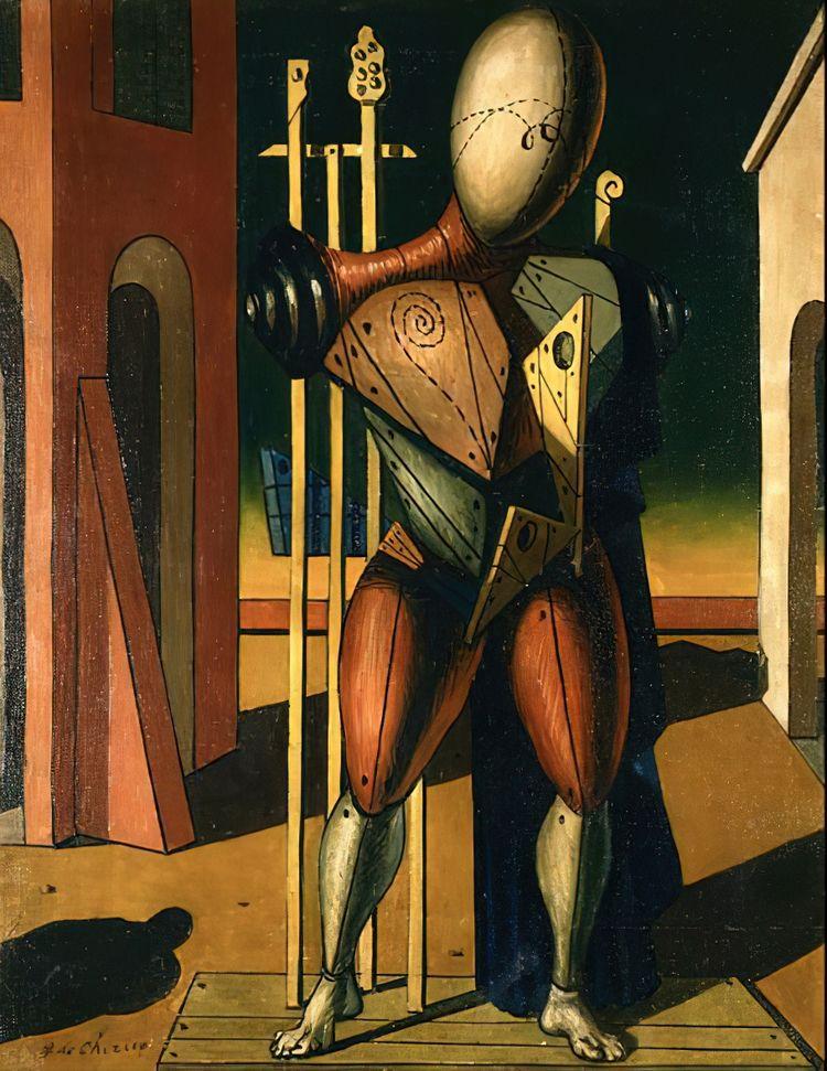 Giorgio di Chirico, Troubadour - geeksusie   ello