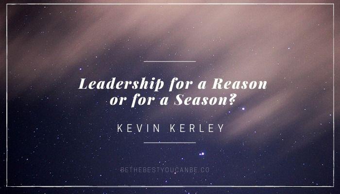 Leadership Reason Season? | Str - bethebestyoucanbe | ello
