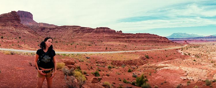 Southern Utah 35mm Widelux // K - the69thdimension   ello