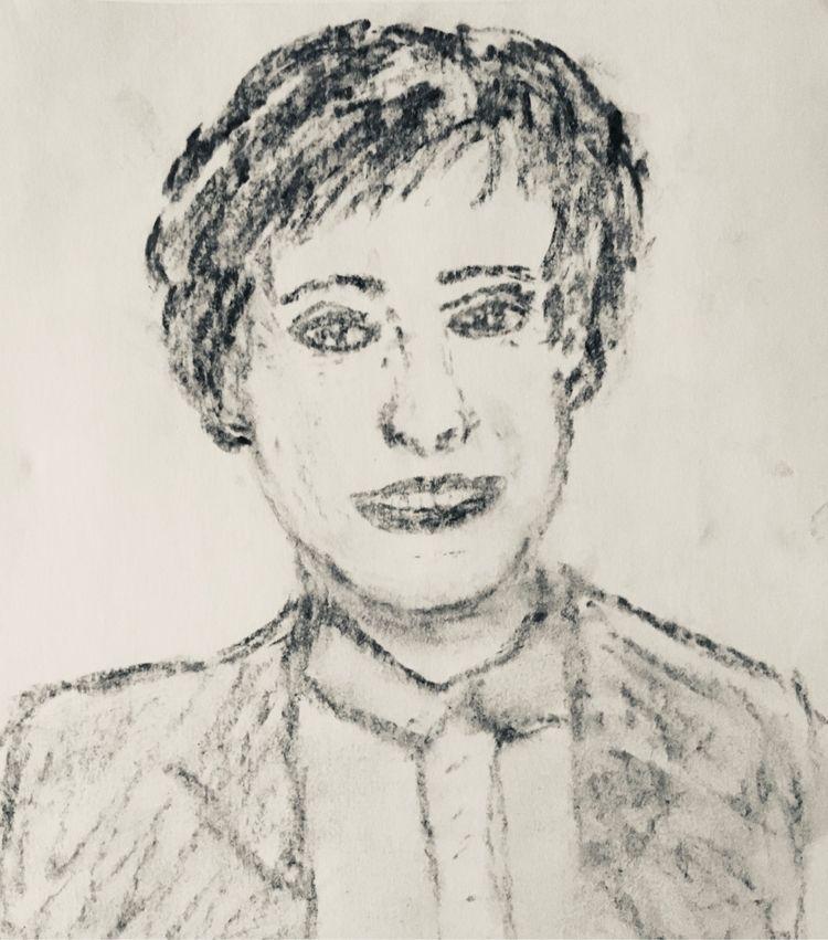 Ellen Charcoal - PRIDE, art - katemoriarty | ello