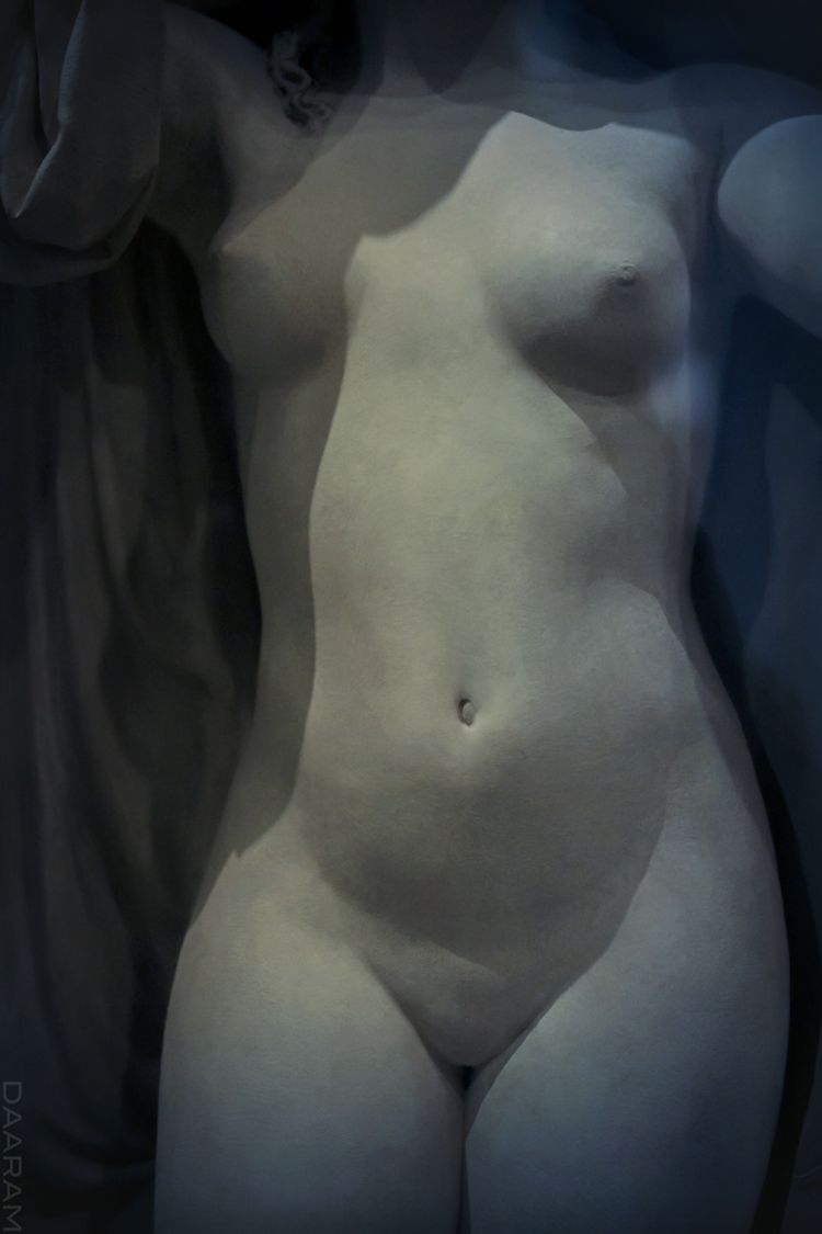 Phryne: Phryne bath Statue scul - daaram | ello