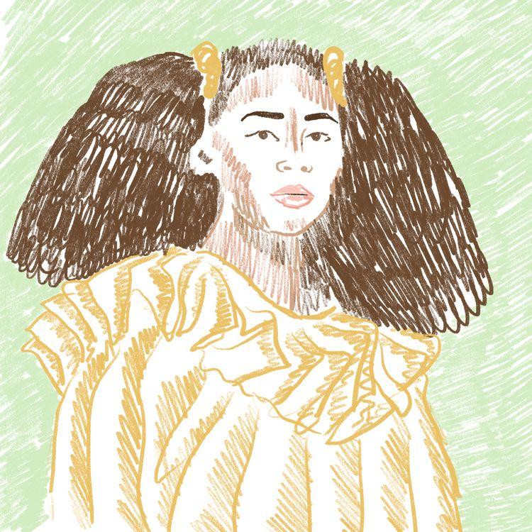 Illustration Sho Madjozi Women  - emmaphilip   ello