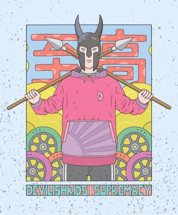 DK Supremacy  - illustration, digitalart - devilishkids | ello