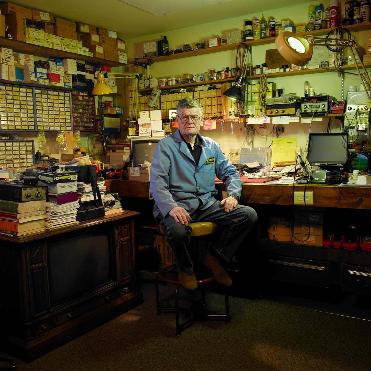 3105 • Bill - TV Repairman Mari - carlcoreyphotographer | ello