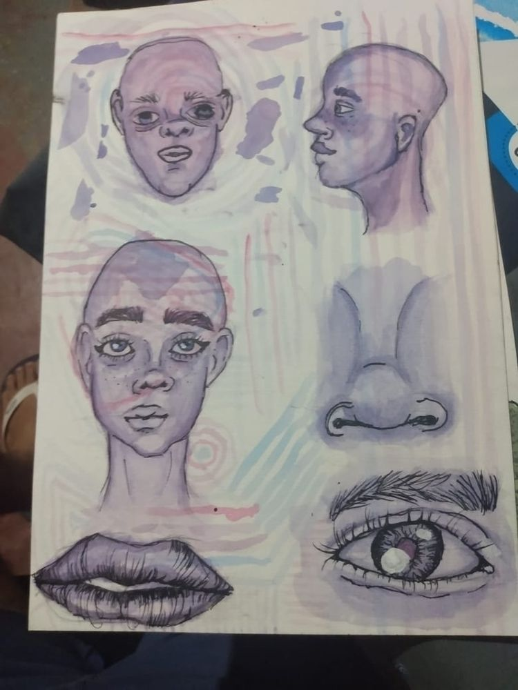 esboço - sketchbook, sketch, outline - dantasadriano_ | ello