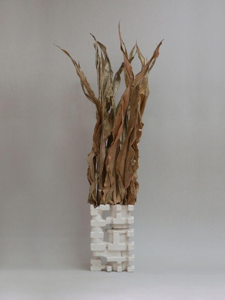 Kresta 01 Corn Leaves, Plaster  - tischlarov   ello