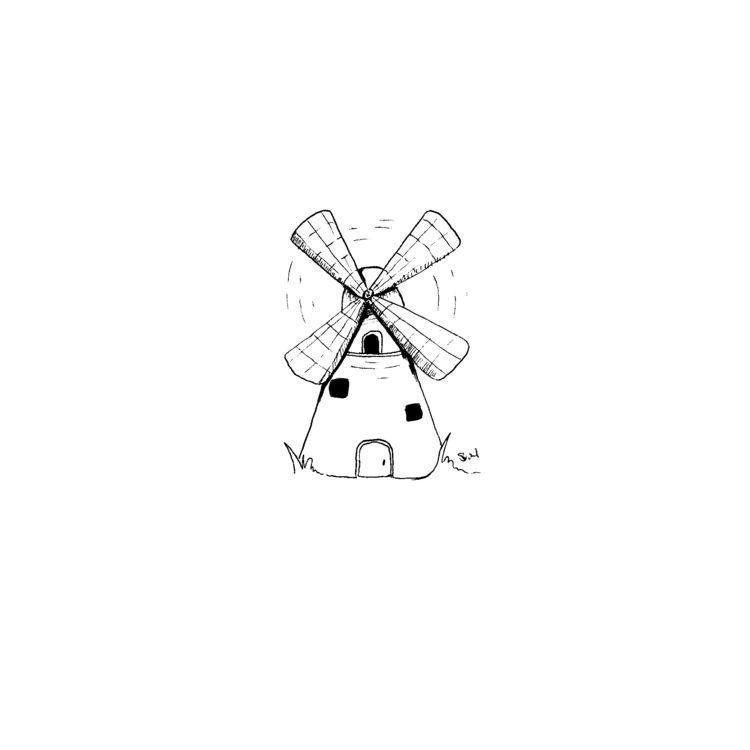 Sketch Daily - 617 Windmills - sketchdaily - svaeth   ello