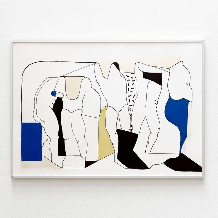 PAPER ꜱᴘᴀᴄɪᴀʟ 02 35x50 cm acryl - moonmambo   ello