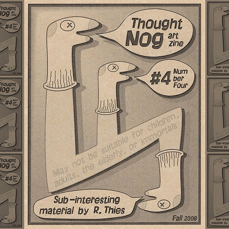 Sock Puppets cover THOUGHT NOG  - rthies | ello