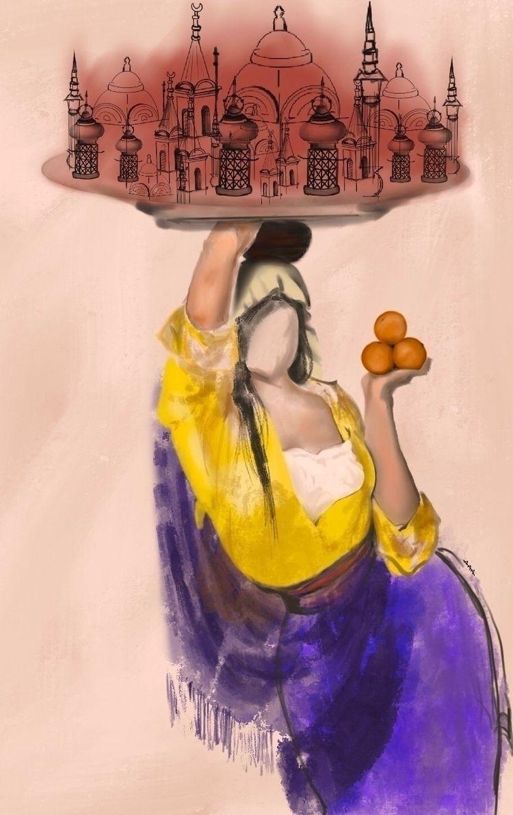 Digital art (Sufi women - aaart | ello