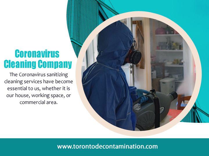 Coronavirus Cleaning Company To - torontodecontamination | ello