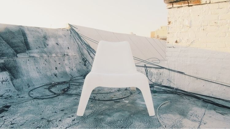 Empty Human Chair Series 2021)  - trevor_brown_artist   ello