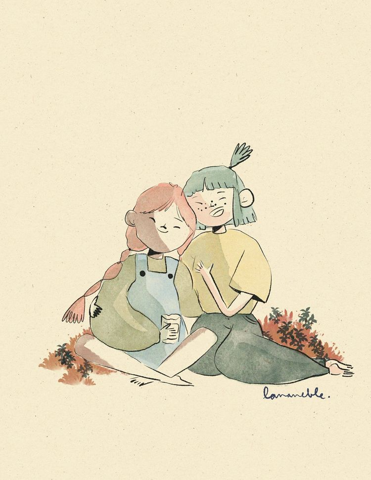 Happy pride month - illustration - lananeble | ello