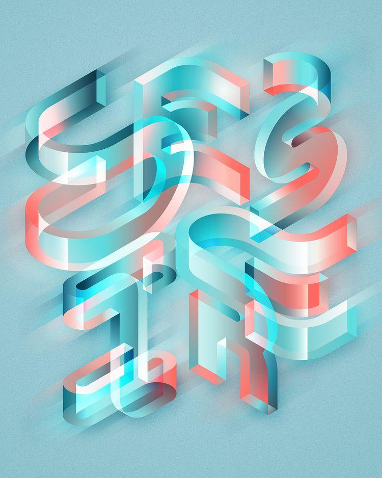DESIRE - typography, type, lettering - mariodemeyer | ello